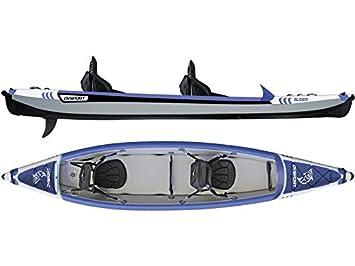Kayak Hinchable Slider 410x85 cm Ociotrends KY410: Amazon.es ...