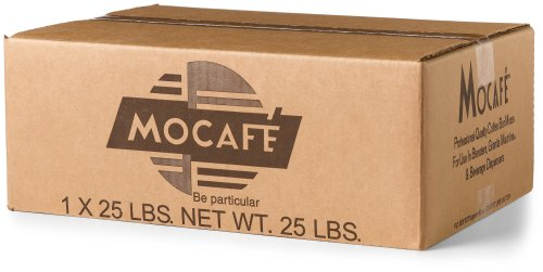 (MOCAFE Azteca D'oro 1519 Mexican Spiced Ground Chocolate, 25-Pound Box Instant Frappe Mix, Coffee House Style Blended Drink Used in Coffee Shops)
