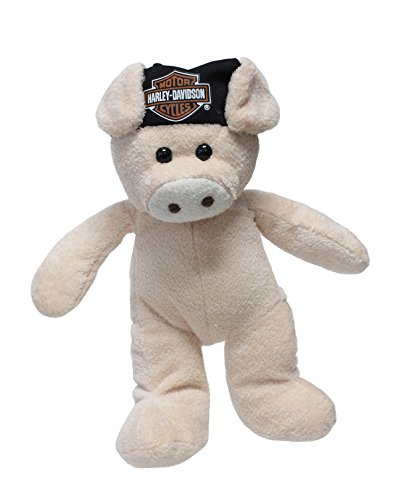 Harley-Davidson Hog with B&S Do Rag Tan Stuffed Animal