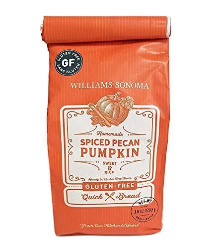 Williams Sonoma GLUTEN FREE Spiced Pecan Pumpkin Quick Bread Mix, 1 lb. 2 oz. (makes one 4