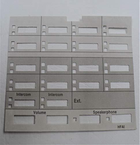 Lot/Pack of 5 Paper Desi/Label/Strip for AT&T Avaya Lucent Partner MLS-18 MLS-18D Phone