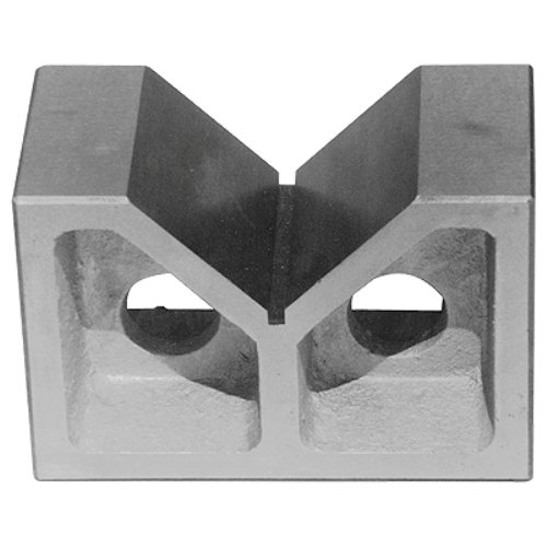 HHIP 2 X 1-5/8 X 1-3/8 INCH CAST IRON V BLOCK SET (3402-1000) (Vee Block)