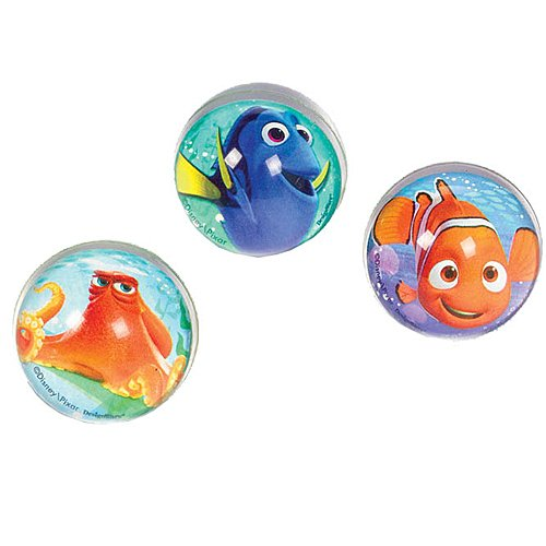 Amscan Finding Dory Bounce Ball Favors 6 count Party Supplies, ()