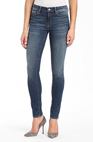 Mavi Women's Adriana Mid-Rise Super Skinny Jeans, Shaded Tribeca 27W X 32L