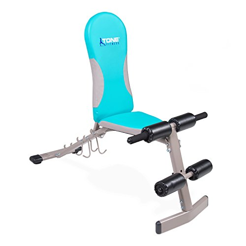 Tone Fitness Flat/Incline/Decline Bench by Tone Fitness