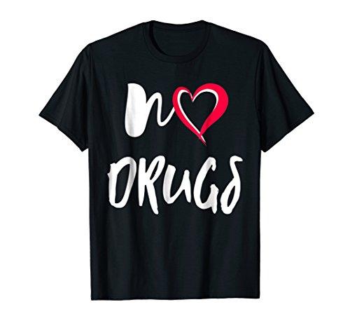 NO DRUGS shirt say no to drugs Red Ribbon week t-shirt gift