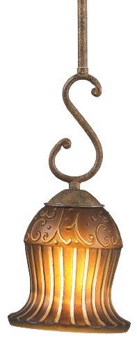Eurofase 13284-015 Fenton 1-Light Pendant, Aged Taupe/Ivory