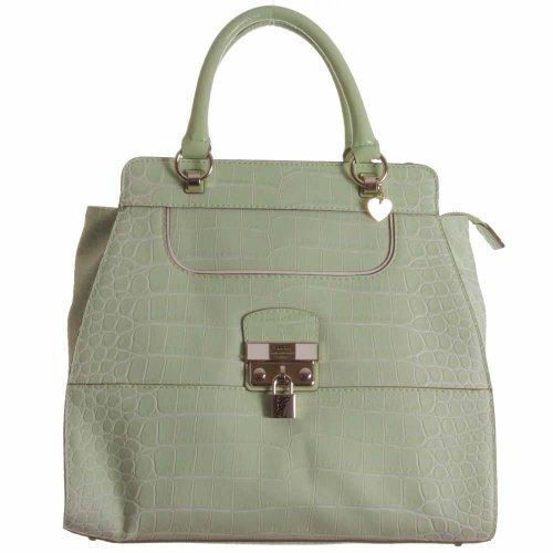 Guess - Bolso de asas para mujer verde Mint