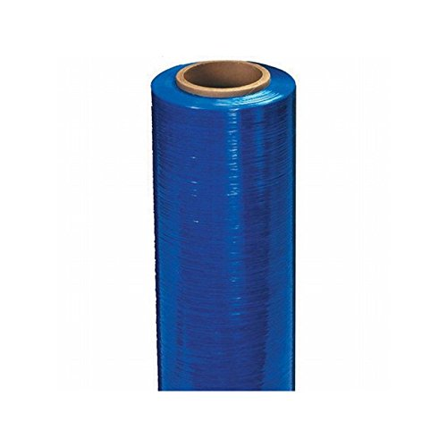 Box Packaging Colored Hand Stretch Film, 80 Gauge, 18'' x 1,500' - 4 Rolls per Case by Box Packaging