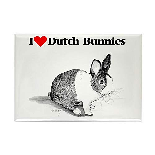 CafePress Dutch Bunny Rectangle Magnet, 2
