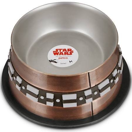 Chewbacca Stainless Steel Dog Bowl, 3.5 Cups, Small