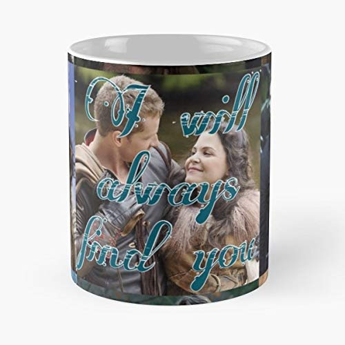 Once Upon A Time Always Snow White - 11 Oz Coffee Mugs Ceramic,the Best Gift For Holidays. (Once Upon A Time Snow And Charming)