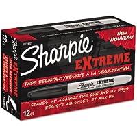 sharpie Extreme Marker, Fine Point, Black, Dozen