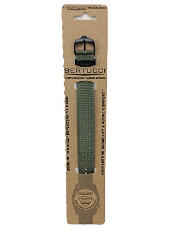 Bertucci DX3 #74 Drab Nylon Watch Band Fits A-4T