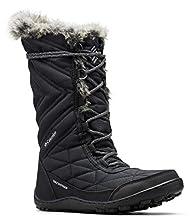 Columbia Women's Minx III Mid Calf Boot, black, ti grey steel, 9.5 Regular US