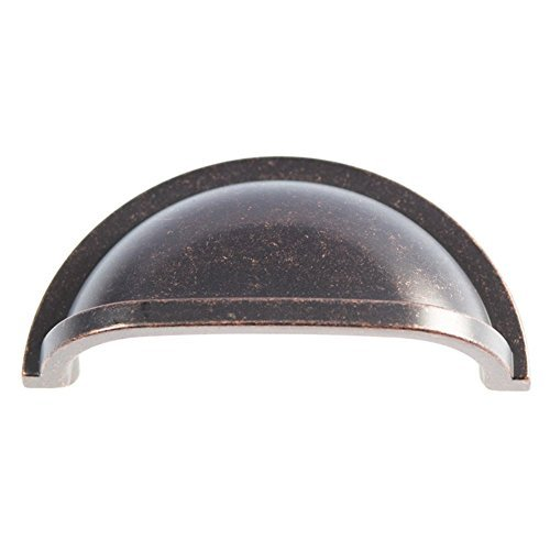 (Hickory Hardware P3055-DAC Williamsburg Cup Cabinet Pull, 3-Inch, Dark Antique Copper by Hickory Hardware)