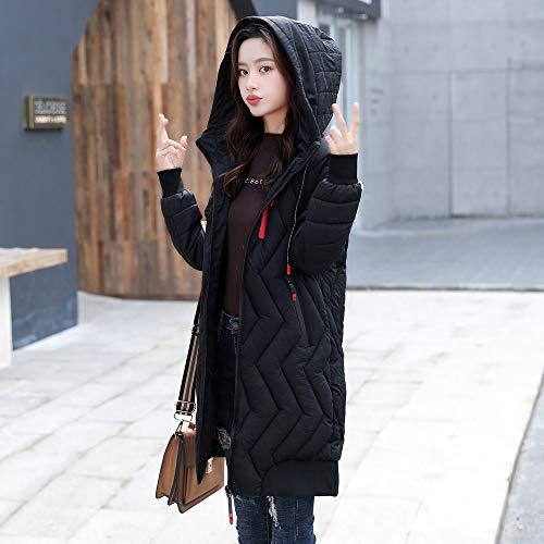 Manteau Manches Femmes Rayé Hiver Noir Lâche Casual Veste Outwear Blouse Longues À Longue Chaud Tops Capuche Épaisse Slim HwwgpEq