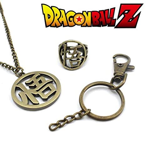 Amazon.com: YPT - Collar de metal con diseño de Dragon Ball ...