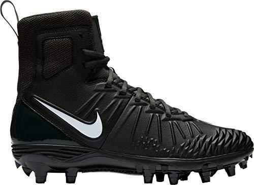 Nike Men's Force Savage Varsity Football Cleats (Black/White, 10.0 D(M) US)