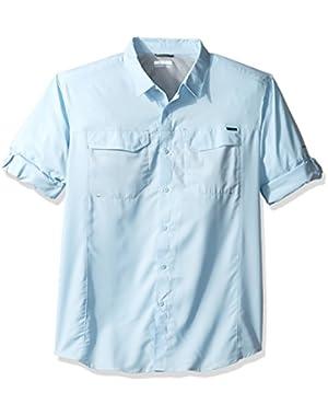 Men's Big-Tall Silver Ridge Lite Long Sleeve Shirt, Oxygen, 1X!
