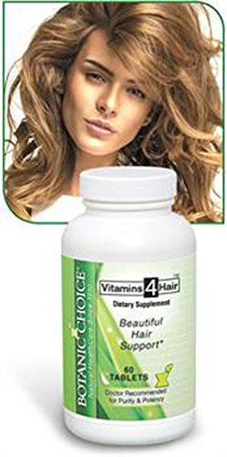 Botanic Choice Beautiful Hair Support Vitamins 60 Tablets