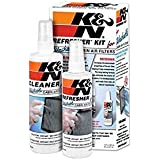 K&N Cabin Filter Cleaning Kit: Spray Bottle Filter Cleaner and Refresher Kit; Restores Cabin Air Filter Performance; Service Kit-99-6000