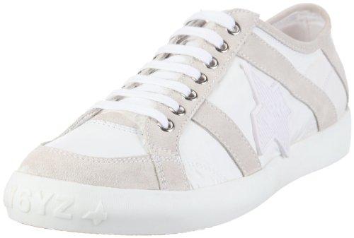 Wyzz Skater Laces 2004726 - Zapatillas de deporte de ante para hombre Blanco (Weiss (Bianco))