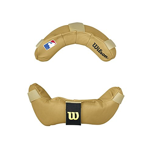 Wilson Non-Wrap Around Umpire Replacement Pads Tan by Wilson