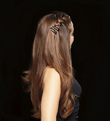 Revlon Essentials Rubberized Double Grip Hair Clips 6 Count