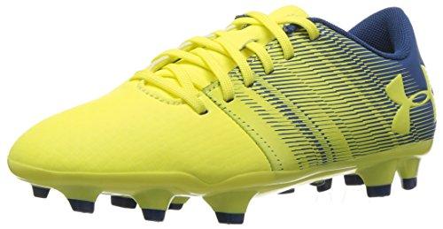 Under Armour Unisex-Kinder UA Spotlight DL FG Jr Fußballschuhe Gelb (Tokyo lemon)