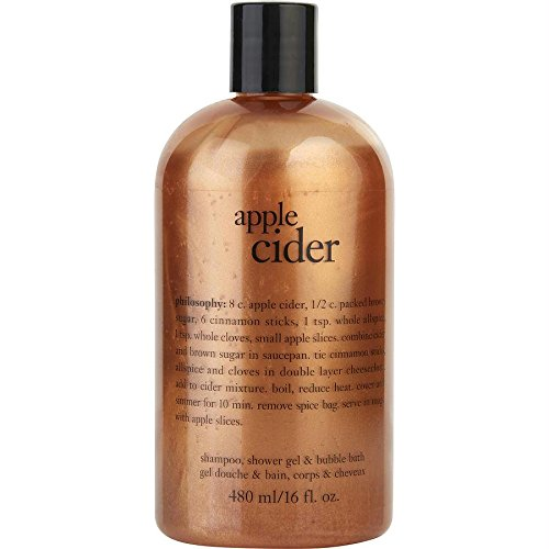 Philosophy Apple Cider Shampoo Bath & Shower Gel By Philosophy for Women - 16 Oz Shower Gel, 16 Oz