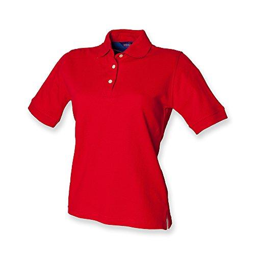 Henbury -camisa Mujer Rosso