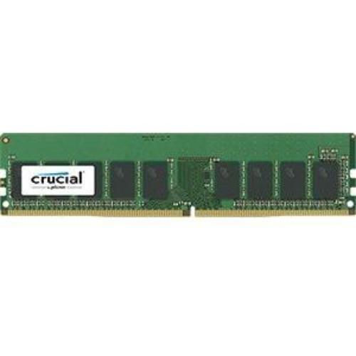 Crucial Technology 8GB 288-Pin EUDIMM DDR4 (PC4-19200) Server Memory Module, CL=17, Unbuffered, 2400 MT/S Speed, ECC, 1.2V, Single Rank, x8 Based, 1024Meg x 72