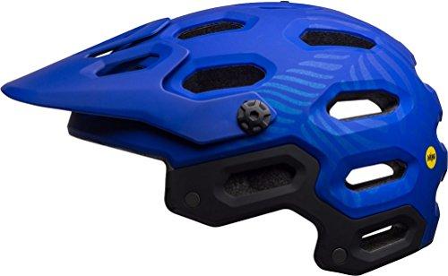 Bell Super 3 MIPS Cycling Helmet - Matte Cobalt/Pearl Joy Small