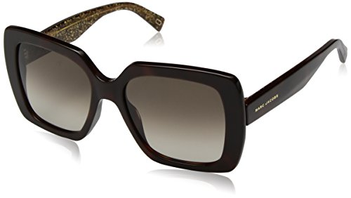 Marc Jacobs Women's Marc230s Square Sunglasses, HV BWGLGD, 53 ()