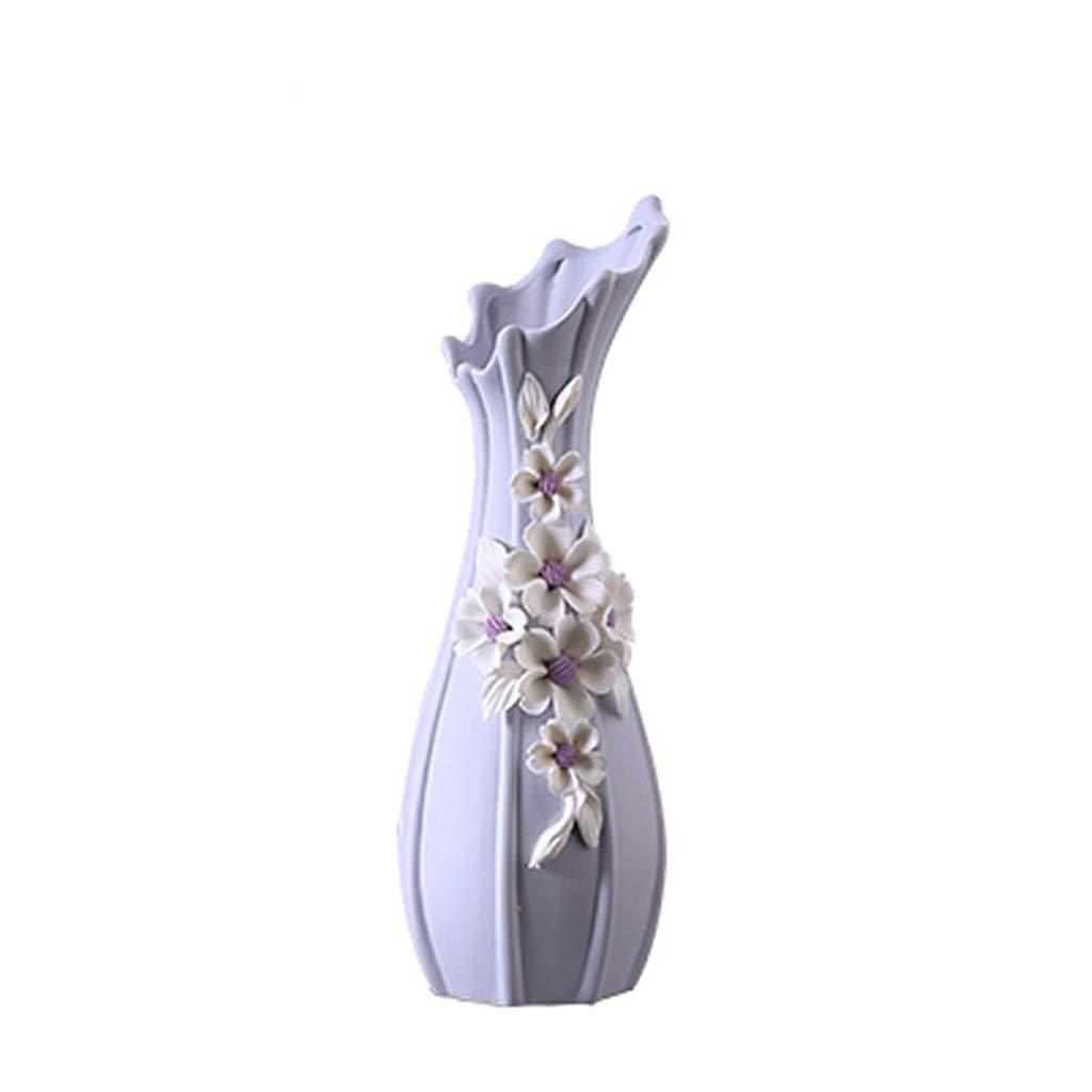 花瓶現代のミニマリストセラミック花瓶花瓶ヨーロッパクリエイティブリビングルームカウンターフラワー北欧家の装飾花瓶の装飾 LQX (Size : S+M) B07CJNL9NX  S+M