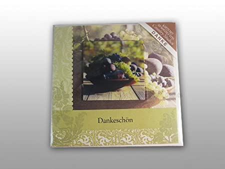 H H 3d With Magnet Thank You Card Amazon Co Uk Kitchen Home
