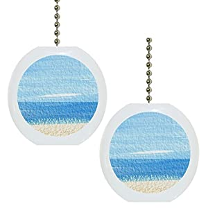 41pZ7KmNh2L._SS300_ 75+ Coastal & Beach Ceiling Fan Pull Chain Ornaments For 2020
