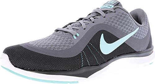 buy popular 35136 387c0 Galleon - Womens Nike Flex Trainer 6 Training Shoes Cool Grey Hyper  Turquoise Dark Grey 7.5