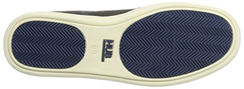 Hub Kingston Mid Original, Sneaker a Collo Alto Uomo Blau (Navy/Off White)