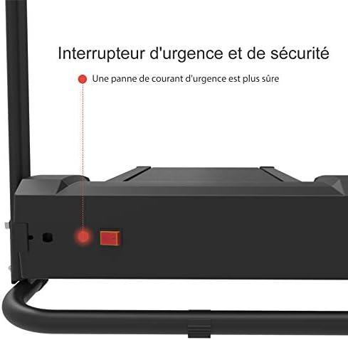 Support IPAD Murtisol Tapis de Course /électronique 1.0HP Laufen Machine V/élo d/'Entra/înement Silencieux avec /écran LCD