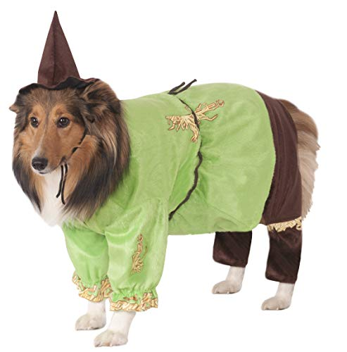 Wizard of Oz Pet Costume, Large, Scarecrow -