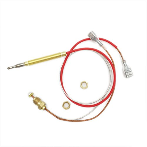 MeTer Star Outdoor Gas Patio Heater M6x0.75 Head Thread With M8x1 End Connection Nuts Thermocouple Length 0.41 Meters by MeTer Star