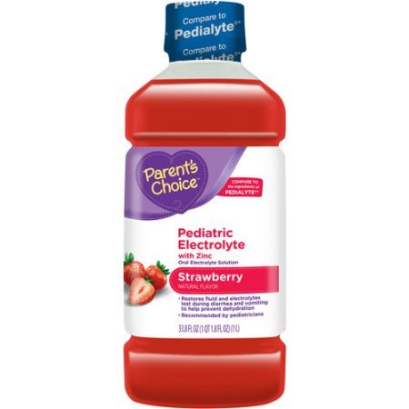 Parent's Choice - Strawberry Pediatric Drink with Electrolytes, 1 liter