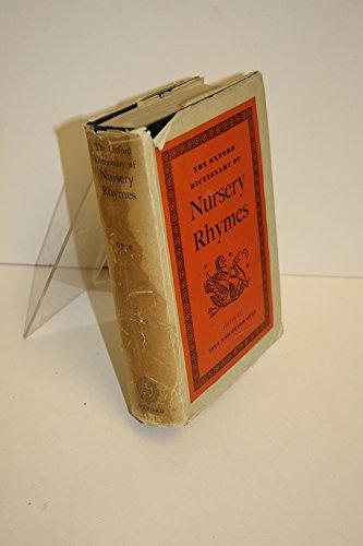 Buy oxford dictionary of nursery rhymes