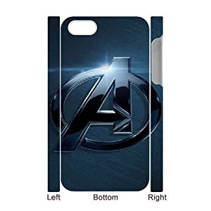 iphone 4,4S 3D Phone Case White The Avengers F6570682