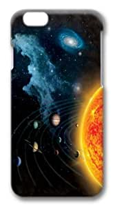 iPhone 6 Case,Solar System Custom PC Hard Case Cover for iPhone 6 3D
