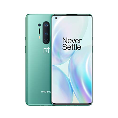 OnePlus 8 Pro 5G 12GB RAM 256GB UK SIM-Free Smartphone with Triple Camera, Dual SIM and Alexa built-in Glacial Green – 2…
