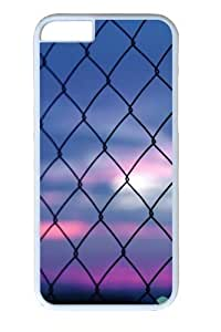 Fence Bokeh PC Case Cover For Apple Iphone 5C and Case Cover For Apple Iphone 5C White