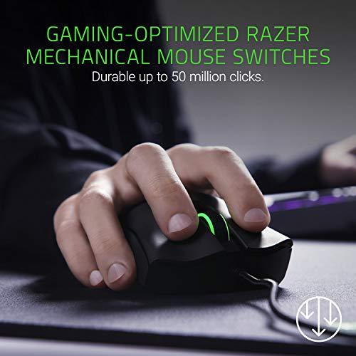 Razer DeathAdder Elite 16,000 DPI 5G Optical Sensor - Mechanical Mouse...